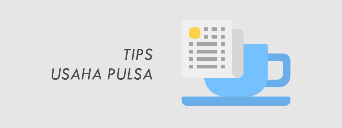tips usaha pulsa