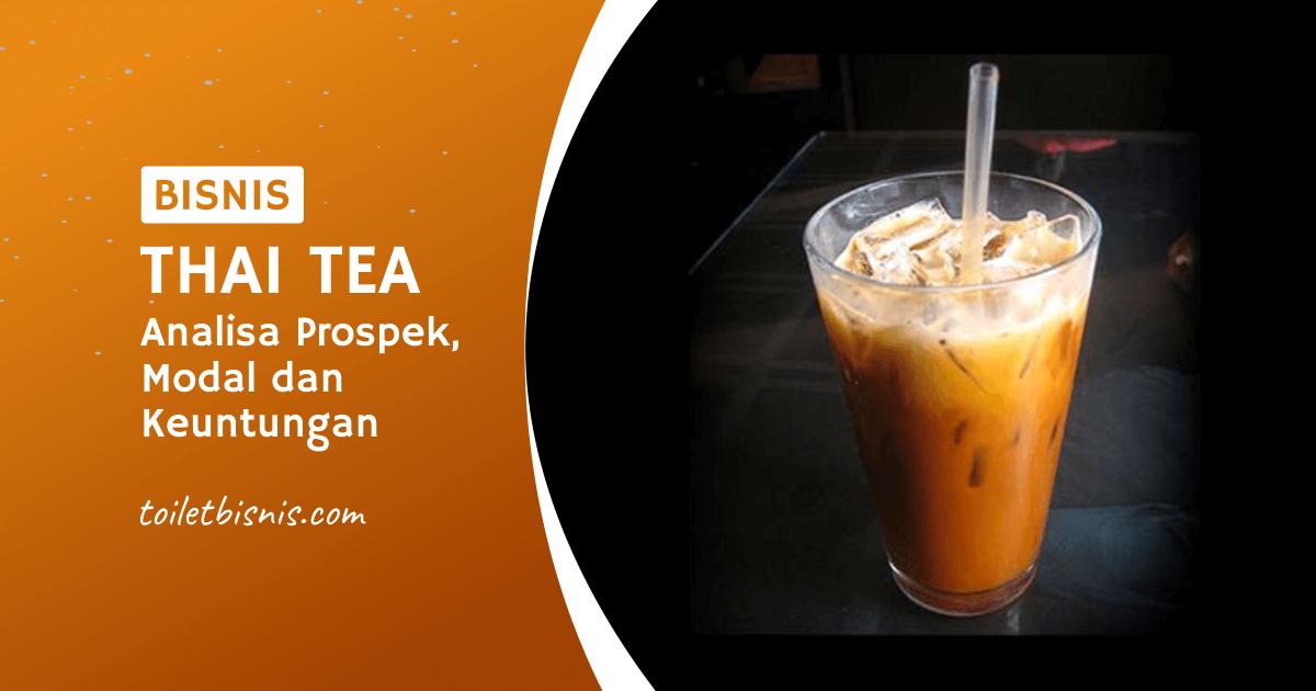 Bisnis Thai Tea Analisa Prospek Modal Dan Keuntungan Toilet