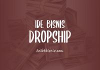 ide bisnis dropship