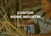 contoh home industri
