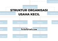 struktur organisasi usaha kecil