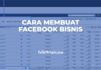 Cara membuat facebook bisnis