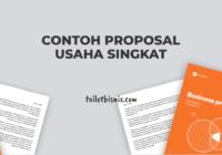 Contoh proposal usaha singkat