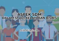 aspek sdm dalam studi kelayakan bisnis