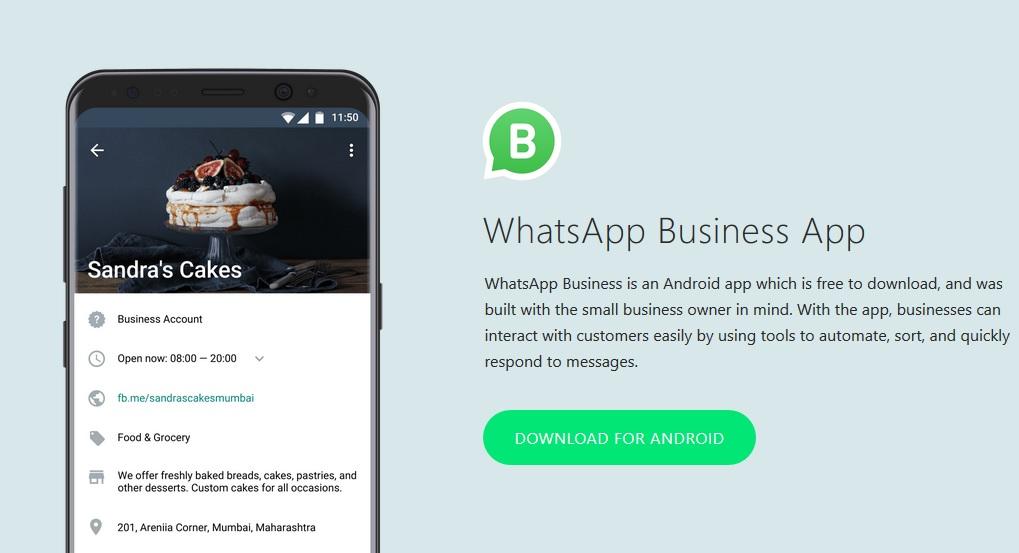 cara membuat whatsapp bisnis
