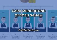 cara menghitung dividen saham