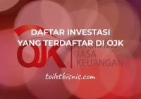 daftar investasi yang terdaftar di OJK