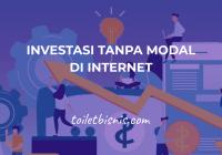 investasi tanpa modal di internet