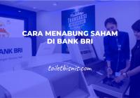 Cara Menabung Saham Di Bank BRI