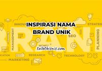 nama brand unik
