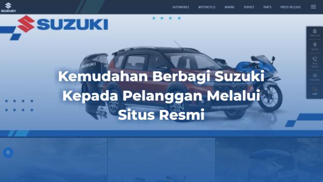 Kemudahan Berbagi Suzuki Kepada Pelanggan Melalui Situs Resmi