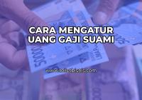 Cara Mengatur Uang Gaji Suami